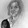 drawing pencil sketch art gift